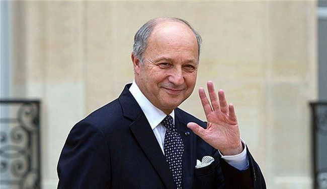French FM Fabius in Tehran