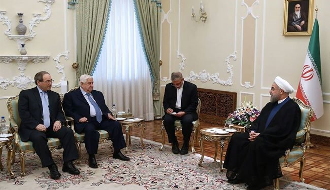 President Rouhani Urges for Efforts to Fight Terrorism