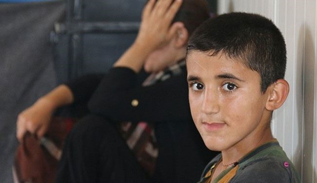 Yazidi Boy Says How He Learned Beheading by ISIS
