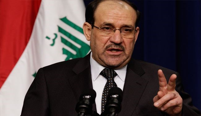 Al Maliki: Disintegration of Iraq the same as Serving Zionists