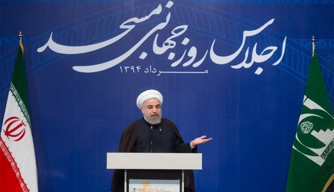 Rouhani: Mosque Not Home for Parties but Politics, Culture