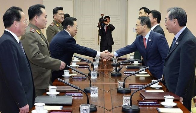 South, North Korea Resume Talks to Stop Standoff