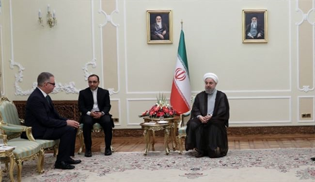 Rouhani Urges Iran, Ireland Cooperation Expansion