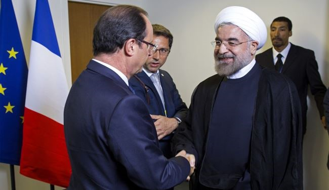 France Aims to Boost All-Out-Ties with Iran