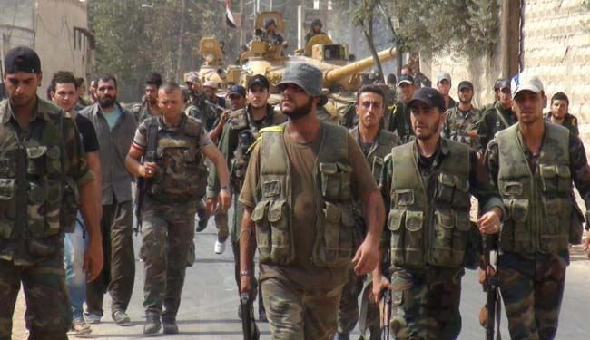 Syrian Army Eradicates Terrorist Group in Daraa