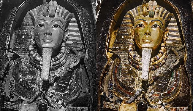Pics, For the First Time See King Tutankhamun's Tomb in Color