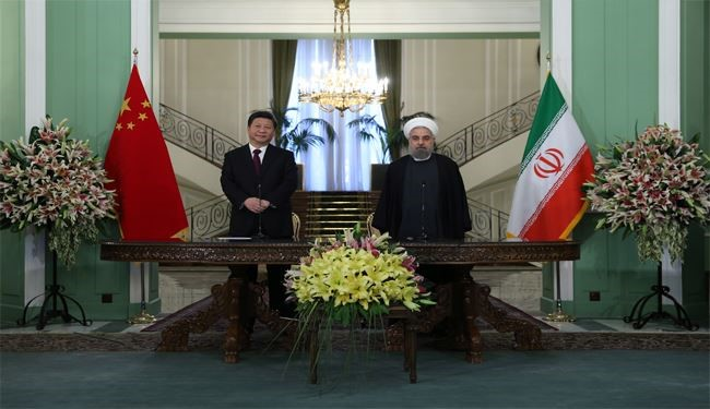Comprehensive Strategic Partnership between I.R. Iran, P.R. China