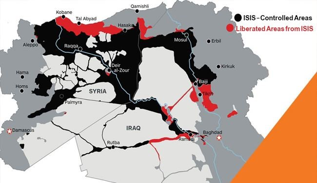 INFOGRAPHIC: GEOGRAPHY OF DAESH (ISIS/ISIL)