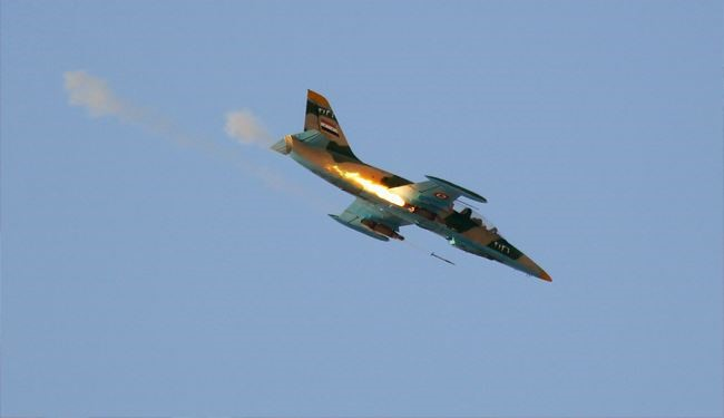 Syrian Air Force Jets Pounded ISIL Positions in Homs Province