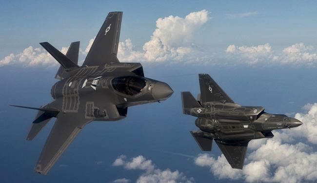 American F-22s Fly over Mideast despite No 'Operational Necessity'