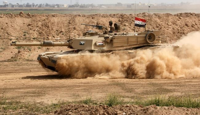Iraqi Army Troops Retake Key Region in Anbar from ISIS