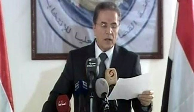 Syria's Judicial Head: Parliamentary Election Campaigns Begin on Monday