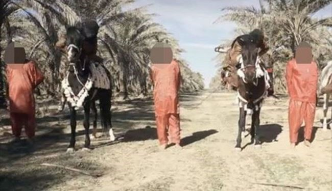 Barbaric ISIS Video Shows 3 Spies Beheaded by Terrorists on Horseback