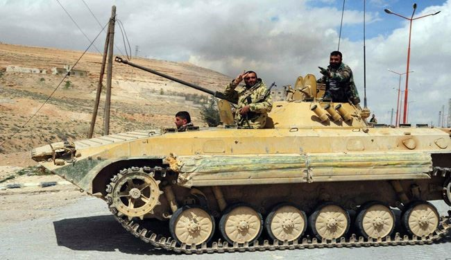 Syrian Army Backed by Russian Air Force Advances toward Palmyra
