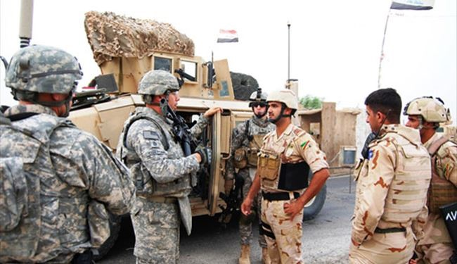 Iraqi Troops Training by US Military Advisers for Mosul Recapture