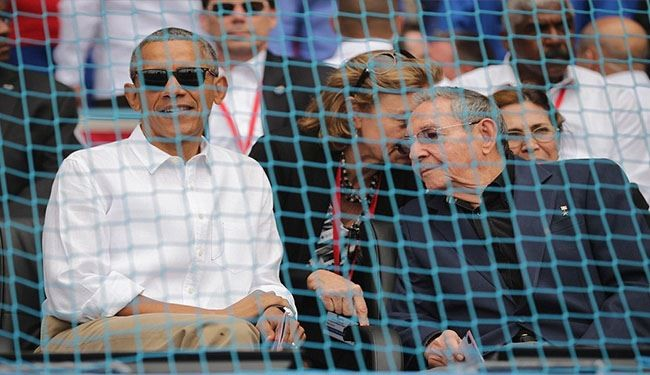 What Terror Attack? Smiling Obama Attends Baseball Game + PHOTOS