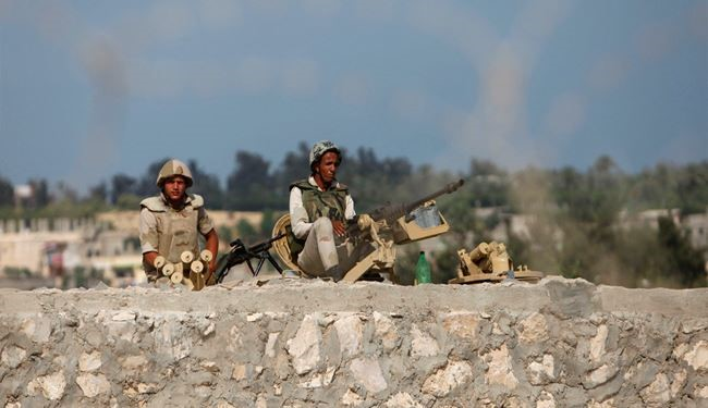 Four Egyptian Army Soldiers Killed in Terrorists Ambush in Sinai