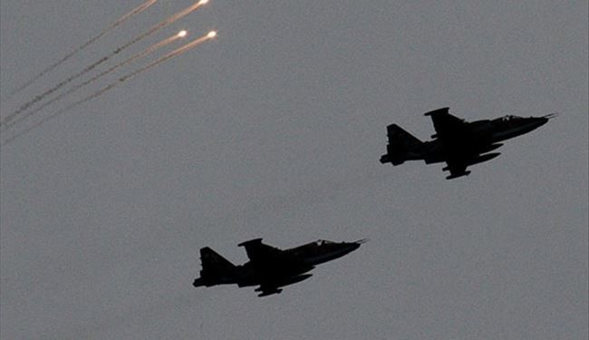Syrian Air Force Targets ISIL Headquarters in Raqqa