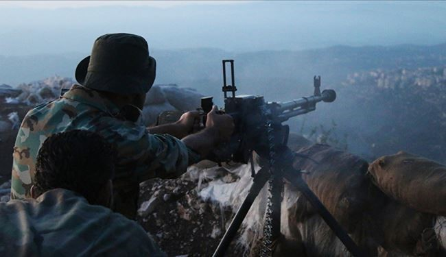 Syrian Allied Forces Push Back Terrorists from Heights North of Lattakia