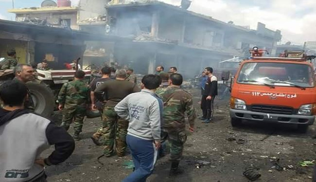 12 Killed, 40 Wounded in Twin Bombings in Homs