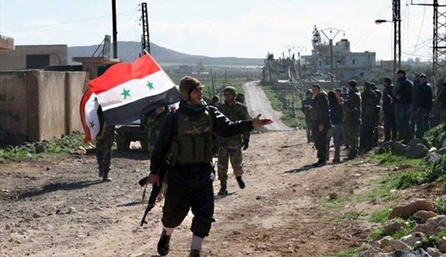 Syrian Army Troops Cut off Terrorists' Supply Line to Dara'a Neighborhoods