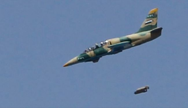 Syrian Fighter Jets Target Al-Nusra Centers North of Homs Province