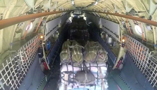 Russia Planes Deliver 40 Tons of Aid to Besieged Syria's Deir Ezzor