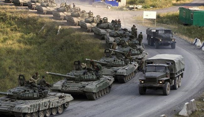 1000 British Soldiers, Tanks Headed for Russia Borders: Report