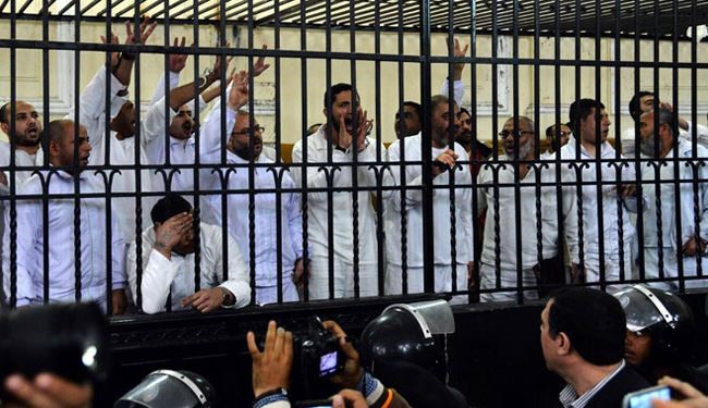 Egypt Court Sentences 8 Morsi Supporters to Death, 12 to Life in Jail