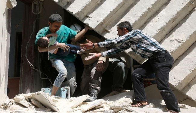 Terrorists' Attacks Kill Two Children in Syria's Aleppo