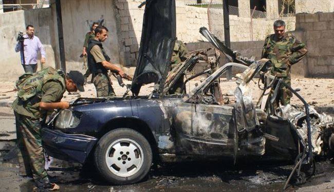 Bodyguard of Syrian President Wife Killed in Car Blast in Damascus-Sweida Road