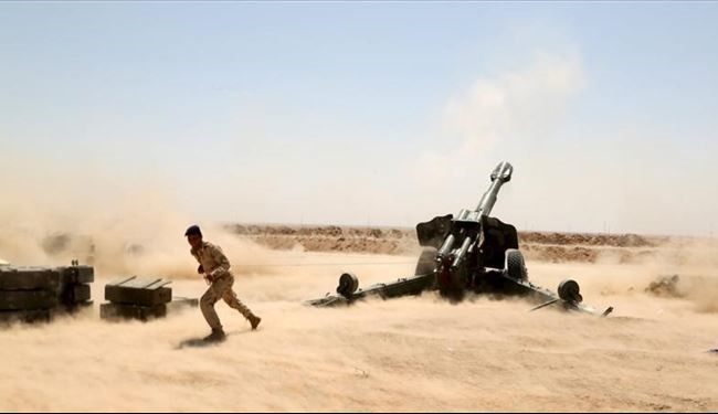 Iraqi Army Kill 12 ISIS Militants by Artillery Shelling West of Heet