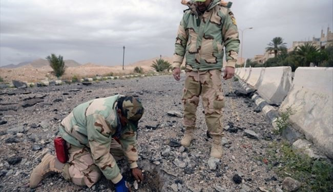 Syrian Soldiers Start Defusing Landmines in Western ISIS-Held Raqqa City