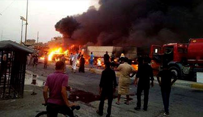 25 Iraqis Killed, Dozens Injured in another Massive Blast in Baghdad City