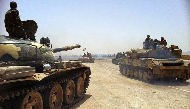 ISIS Terrorist Organization Loses More Positions & Vehicles in Syrian Army Operation