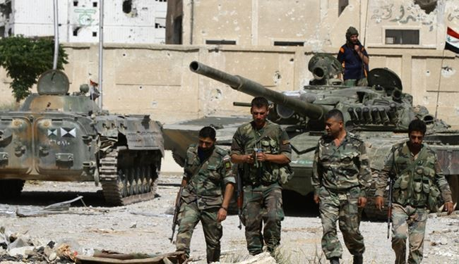 Syrian Army Returns Security to Harira Town in Damascus Countryside