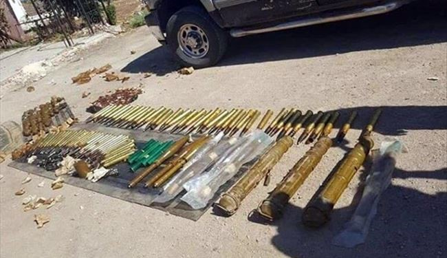 PHOTOS: US-Made Arms Destined for ISIS Militants Seized by Syrian Army in Eastern Hama