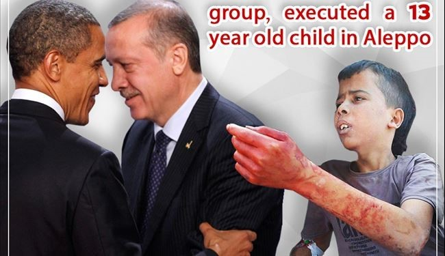 "US & Turkey Backed What Called ""MODERATE REBELS"" Beheads a 13 Years Old Child in Aleppo"