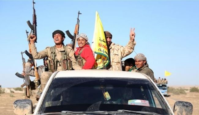SDF Fighters Recapture More Lands from ISIS Militants in Aleppo's Manbij
