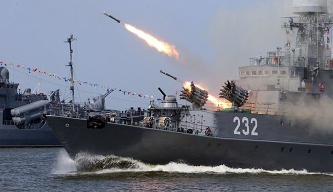 Russia Starts Navy Drills in Eastern Mediterranean in Support of Syria