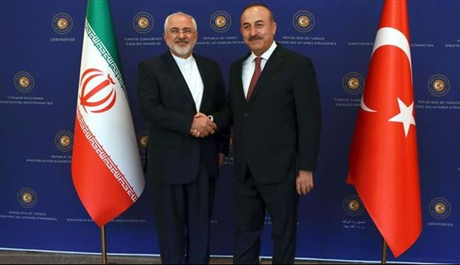 Iran, Turkey FMs Surprise Meeting over Syria, Middle East Issues