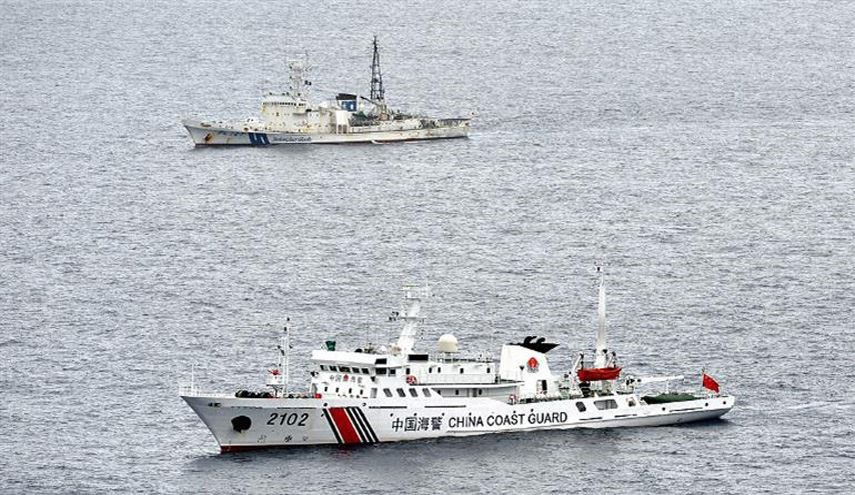 Japan Says China Ships Sail near Disputed Islands in East China Sea