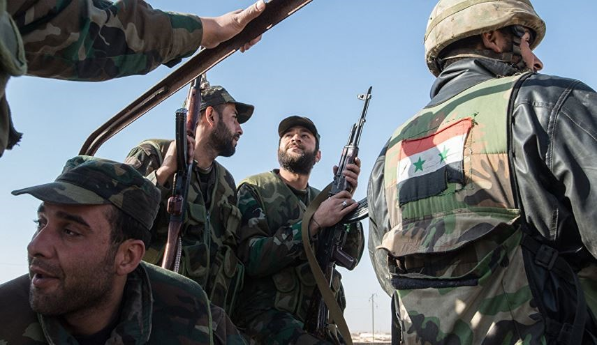 Syrian Army Troops Preparing for Special Operations in Hama