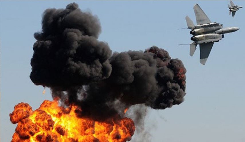 Russian Fighter Jets Bomb Terrorists' Positions in Jeish Al-Fatah Positions in Handarat