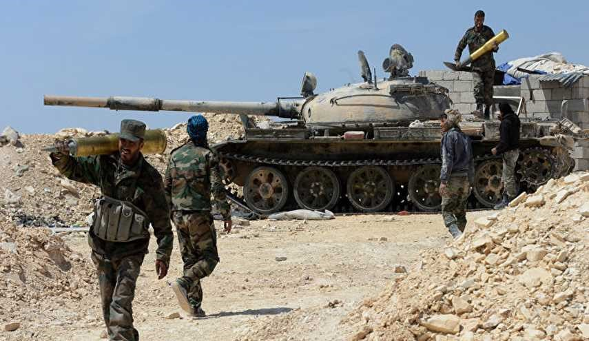 Syrian Army Pounds Terrorists' Positions in Homs, Hama
