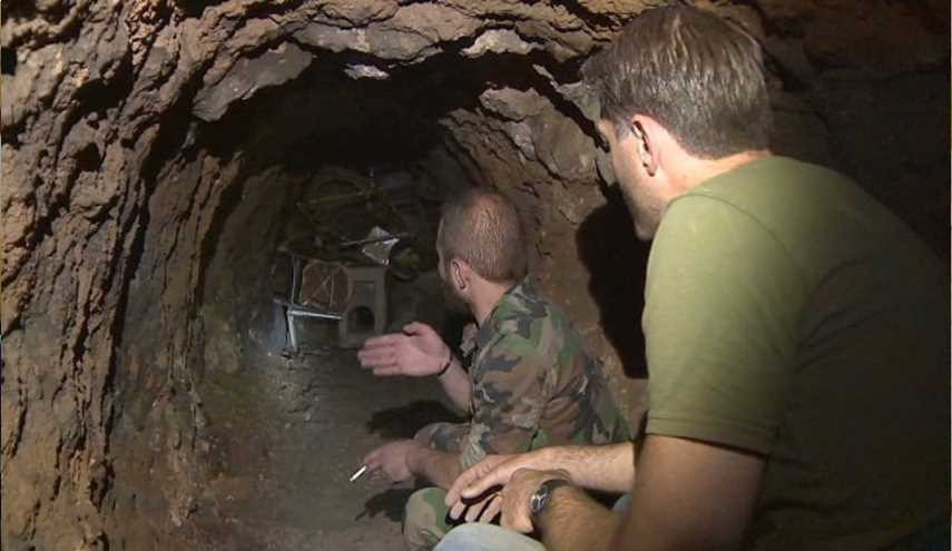 Terrorists' Network of Tunnels Destroyed by Syrian Forces in Aleppo