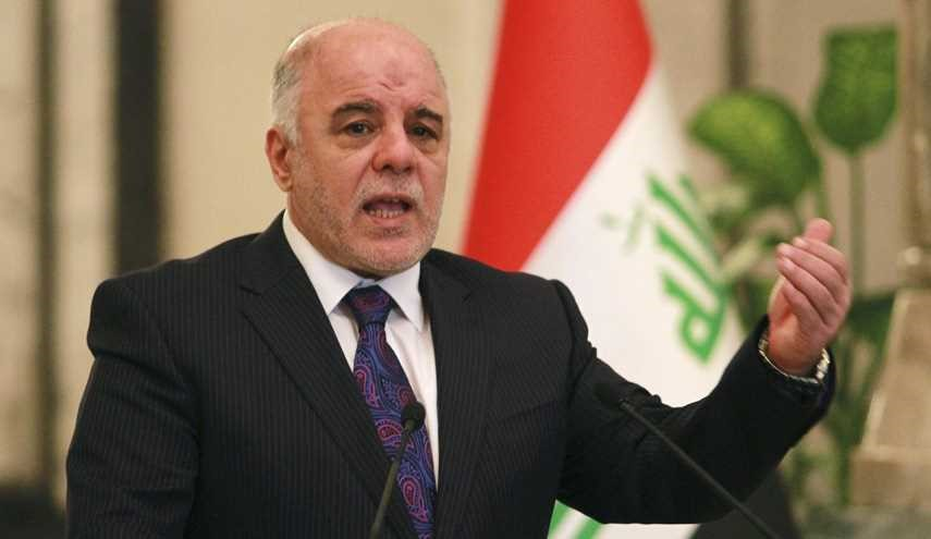 Iraqi PM Abadi: Persian Gulf Arab Countries Favorites of ISIS