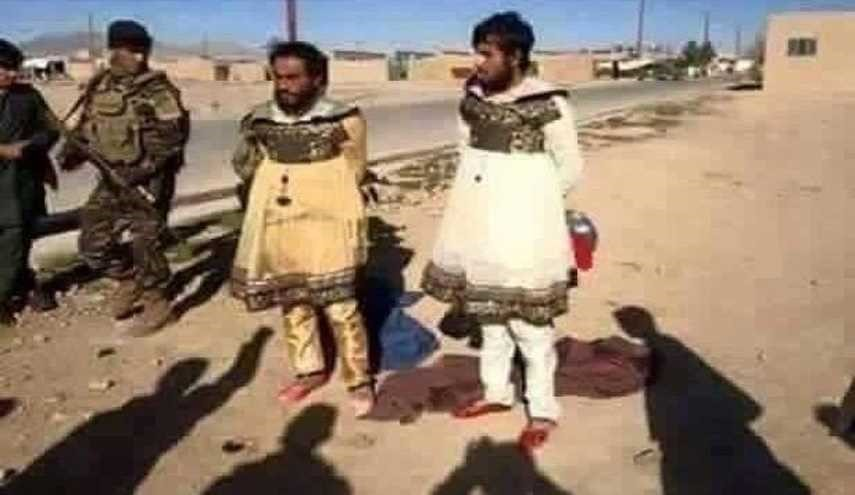 PHOTO: ISIS Militants Captured near Iraq's Mosul Dressed as Women