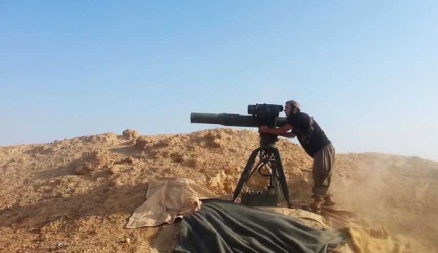 ISIL Terrorist Groups' Skillful Operator of Anti-Tank TOW Missiles Killed in Aleppo