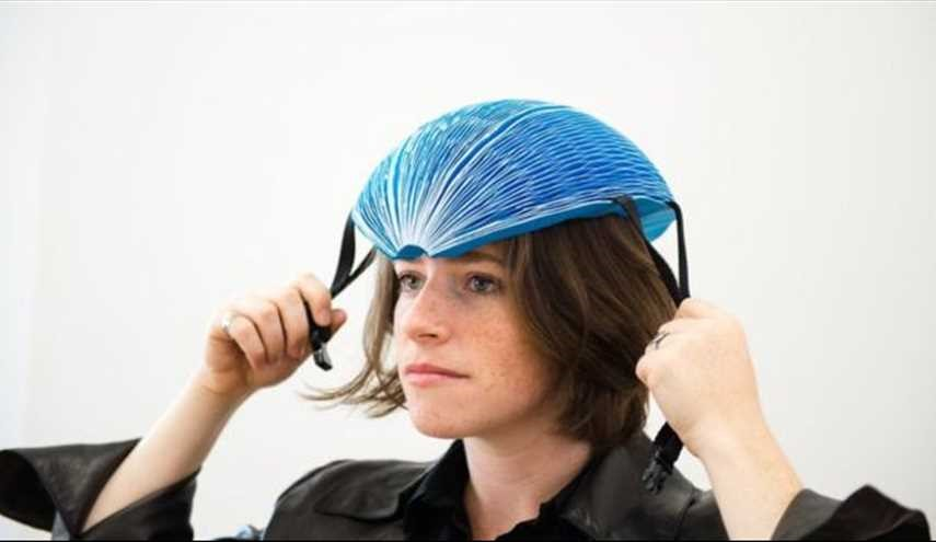 Paper Bike Helmet Wins International Dyson Award
